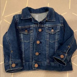 Gap jean jacket jersey lined 18-24 month new